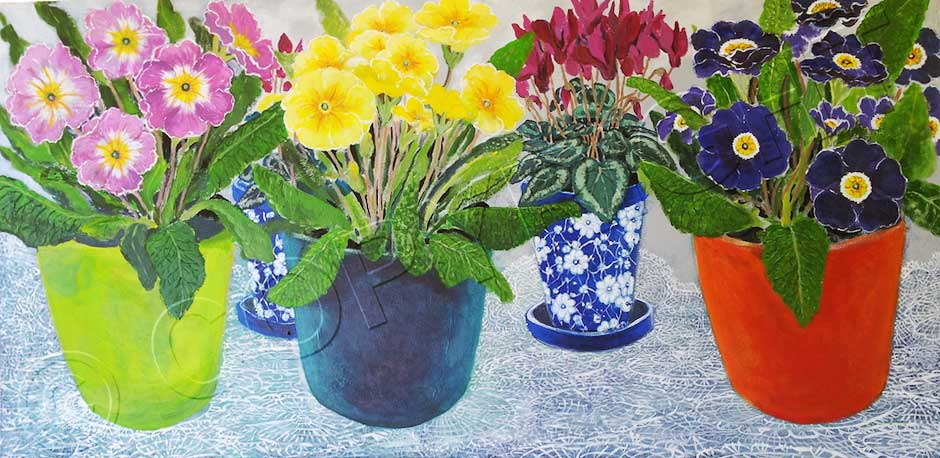 Flower Paintings