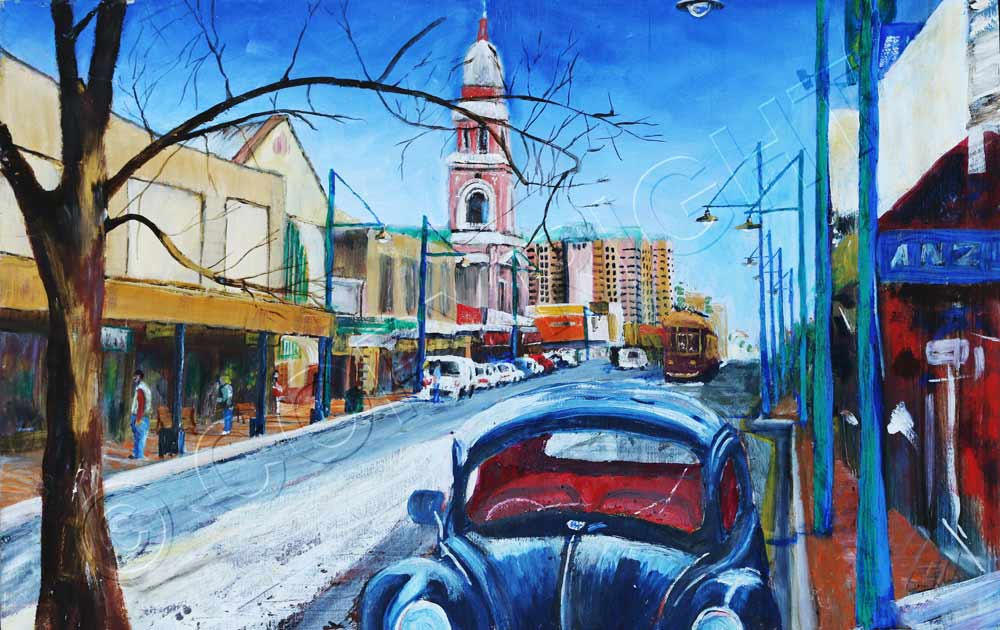 Painting of Adelaide