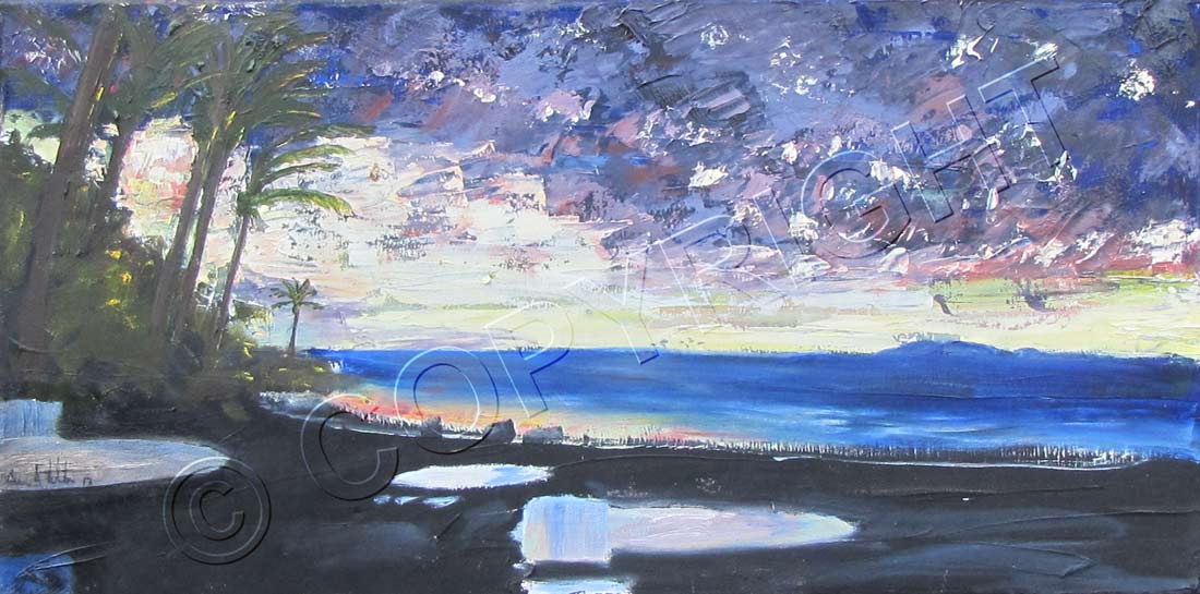 Painting of Sea