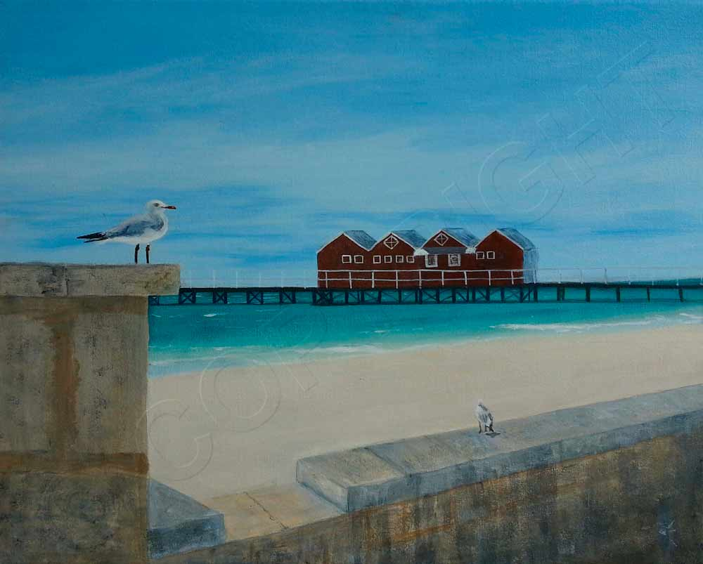 Painting of Busselton