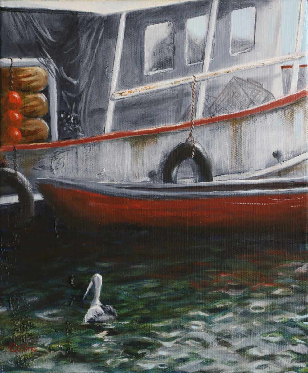 Painting of Fishing Boat