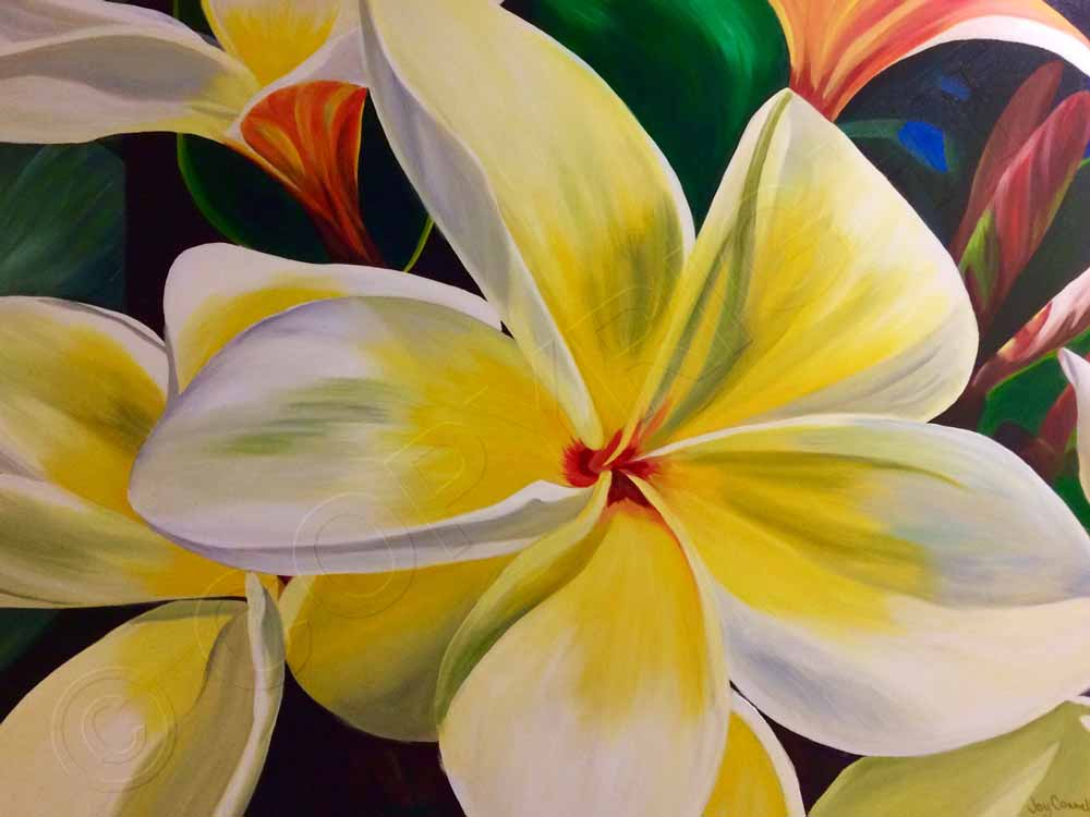Canvas Flower Paintings For Sale