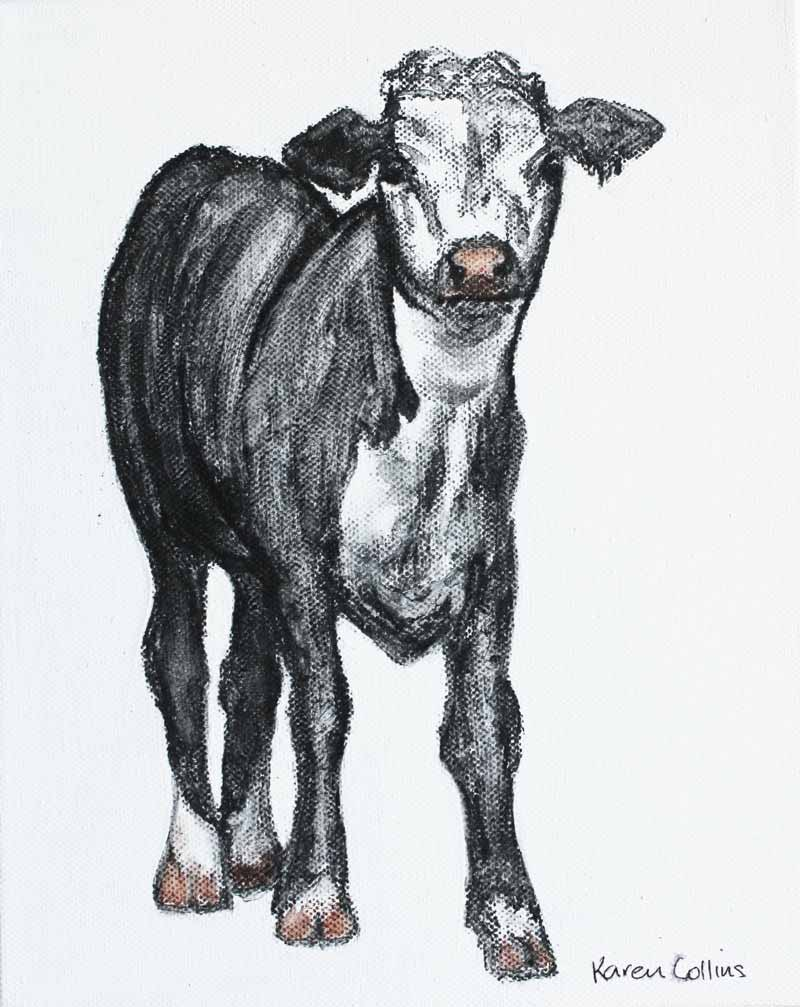 Drawing of Cow