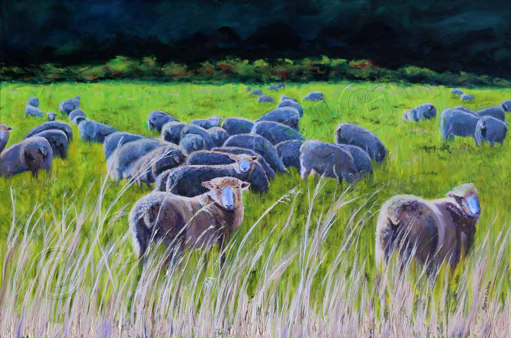 Painting of Sheep