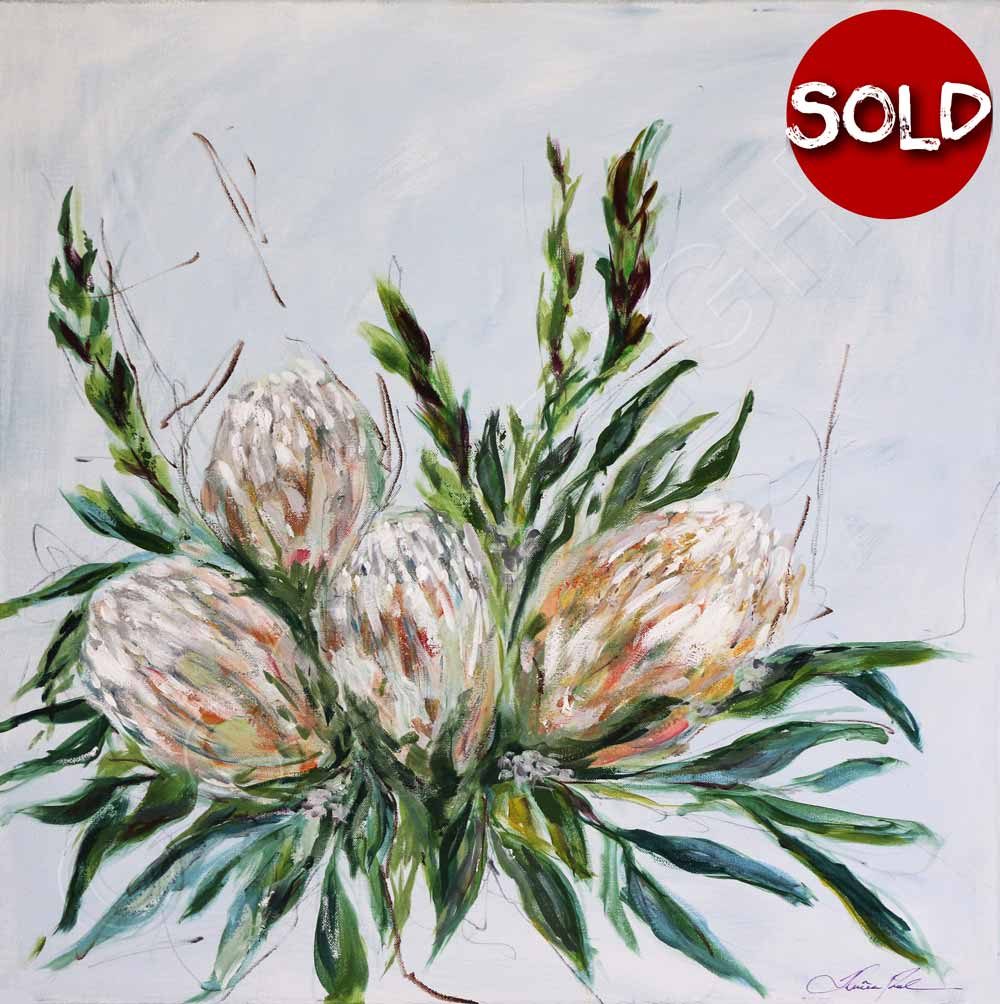 Banksia Painting
