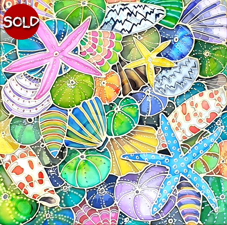 Painting of Seashells