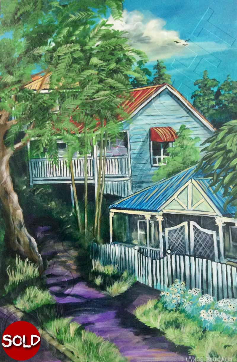 Painting of Brisbane