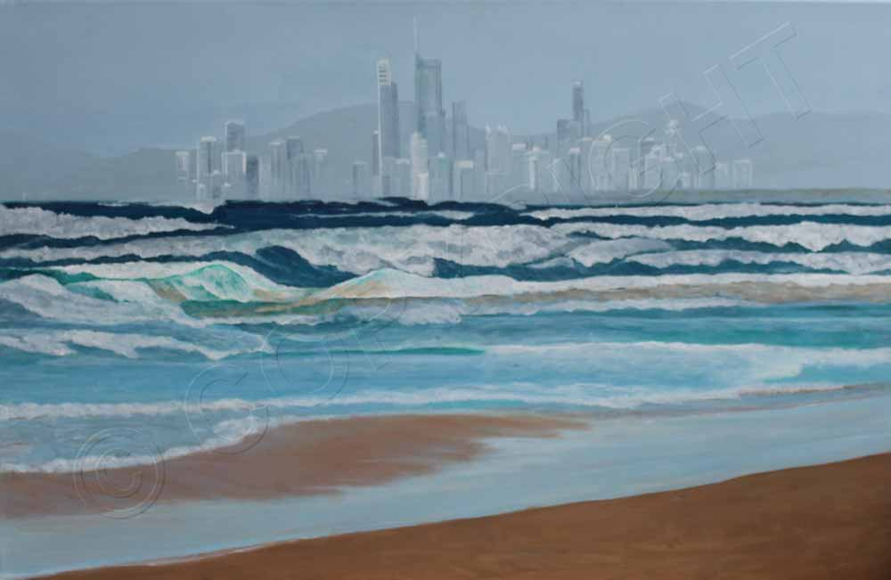 Surfers Paradise Painting